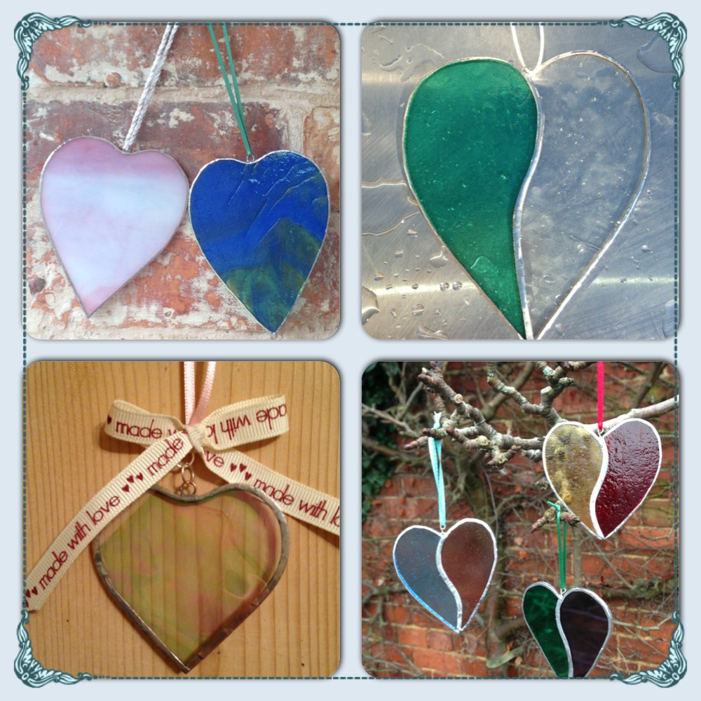 Stained-Glass-Hearts - A homemade gift for Valentines Diners